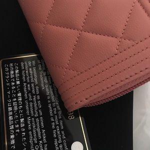 4cd4dca1cc0b CHANEL Bags   New Pink Salmon Boy Wallet   Poshmark